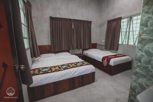 Tenom Guest House Room